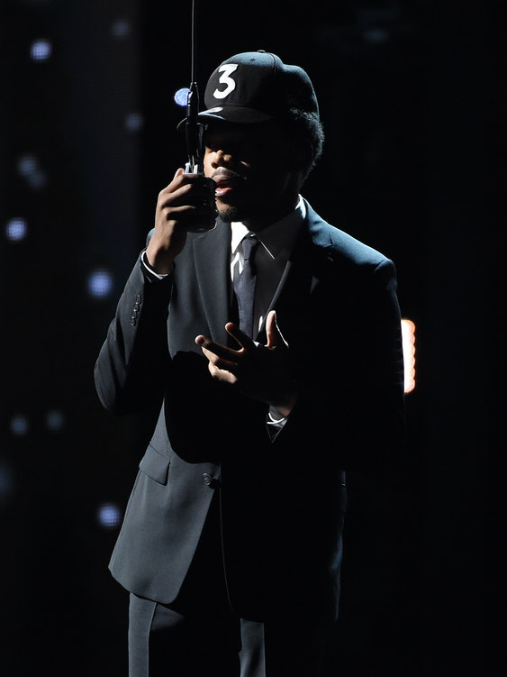 LOS ANGELES, CA - JULY 13:  Recording artist Chance The Rapper performs onstage during the 2016 ESPYS at Microsoft Theater on July 13, 2016 in Los Angeles, California.  (Photo by Kevin Winter/Getty Images)