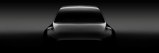 The Tesla Model Y Teaser Image is Classic Elon Musk Hype Beasting
