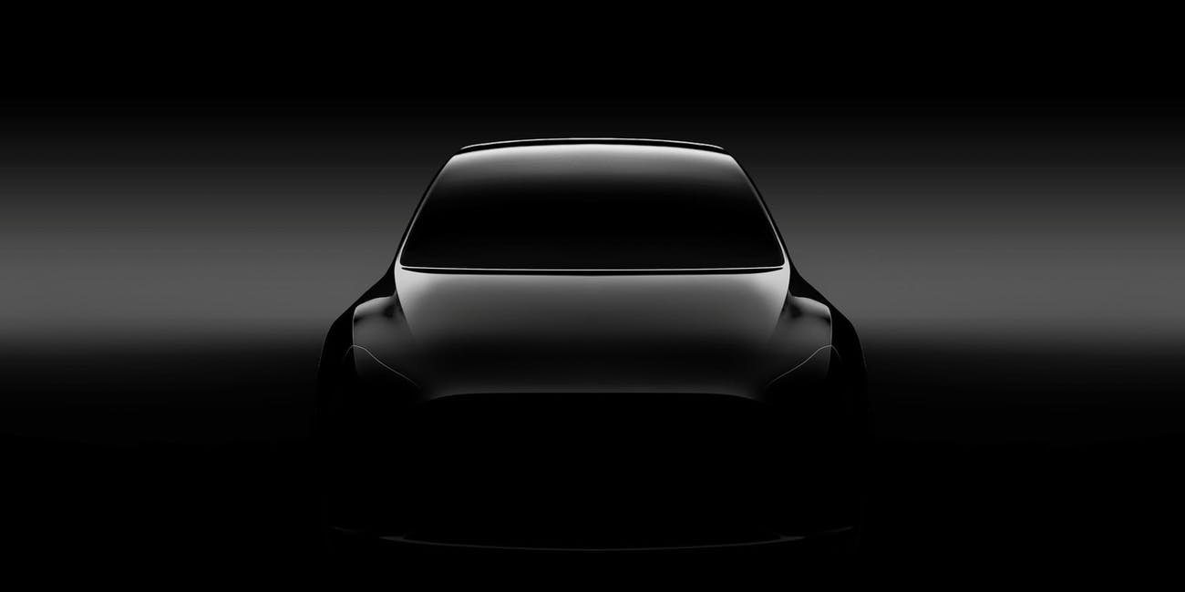 The Tesla Model Y Teaser Image is Classic Elon Musk Hype Beasting