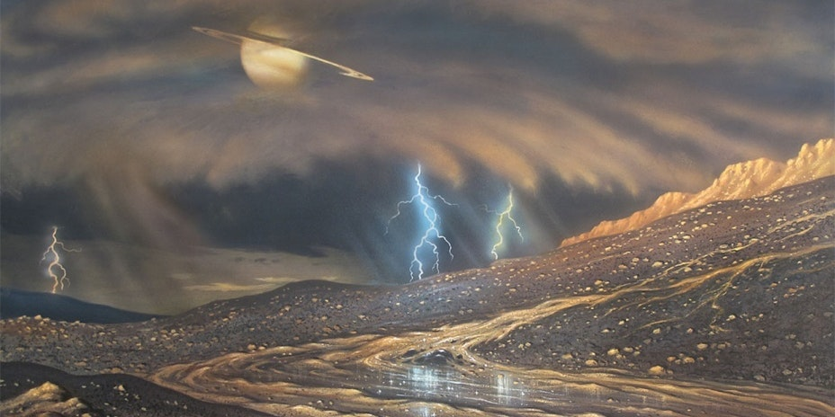 Titan Has 300-Foot Electrically Charged Sand Dunes