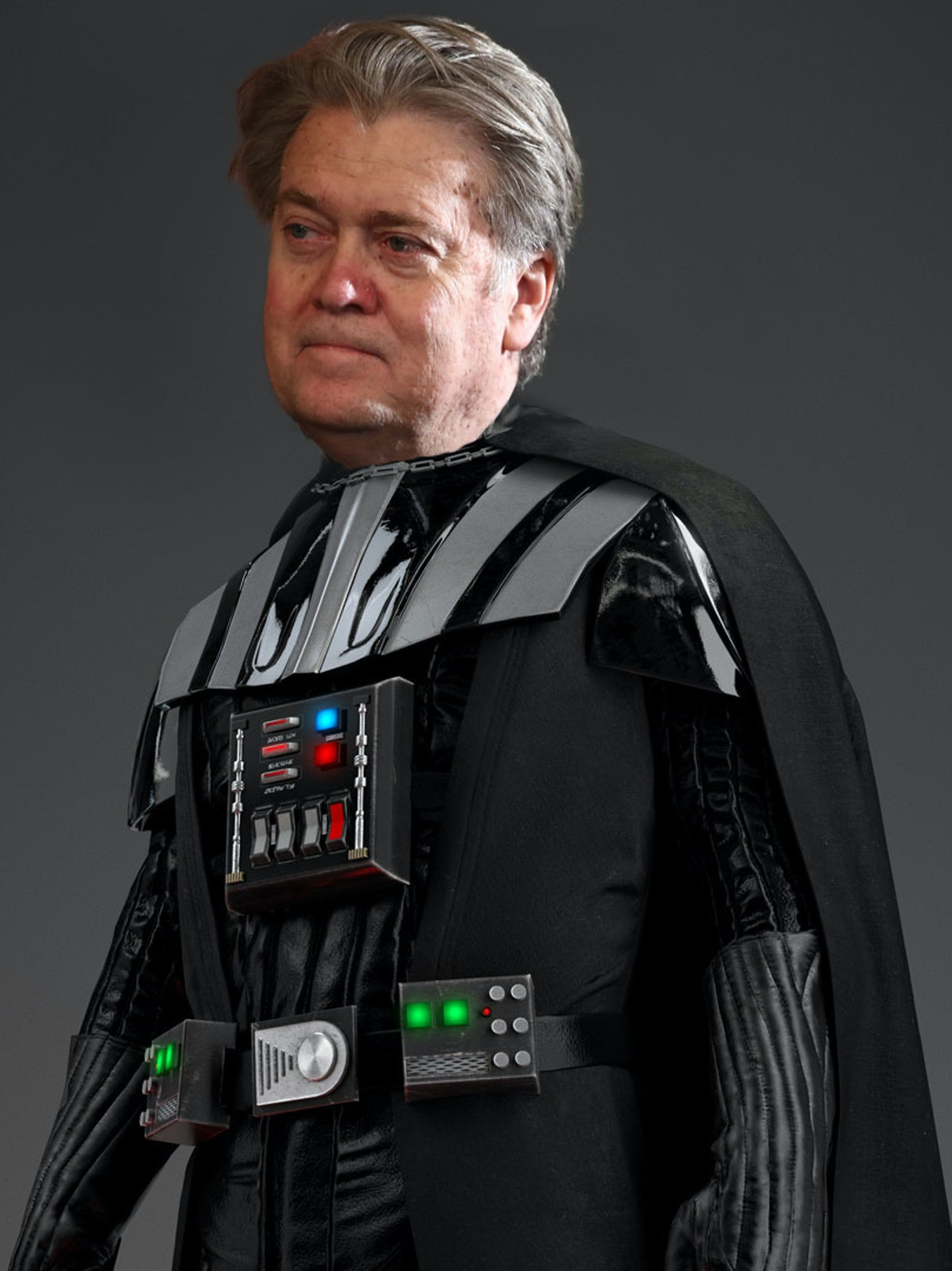 Steve Bannon compared himself to Darth Vader again.