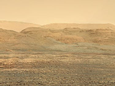 Curiosity's New Photos of Martian Dunes Paint a Red Planet Yellow