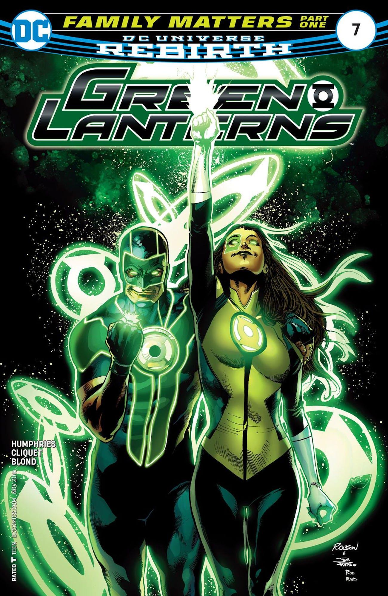 Green Lanterns DC Comics Simon Baz Jessica Cruz