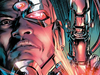 DC's 'Cyborg Rebirth' #1 Is a Coming-of-Age Techno-Horror