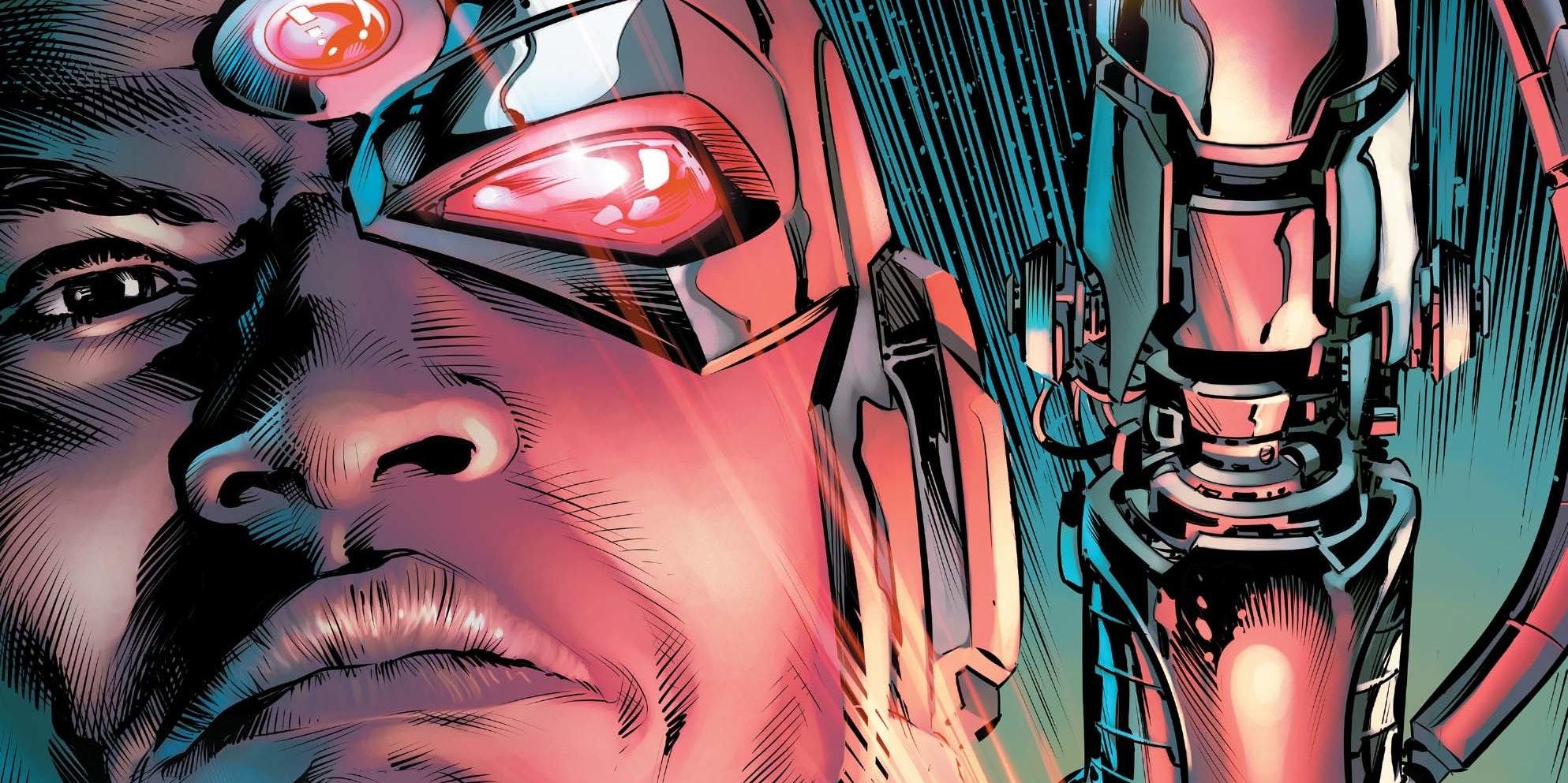 'Cyborg: Rebirth' #1