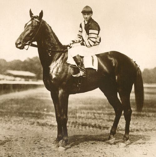Man o' War, who retired in 1920, won 20 of 21 races in his career.