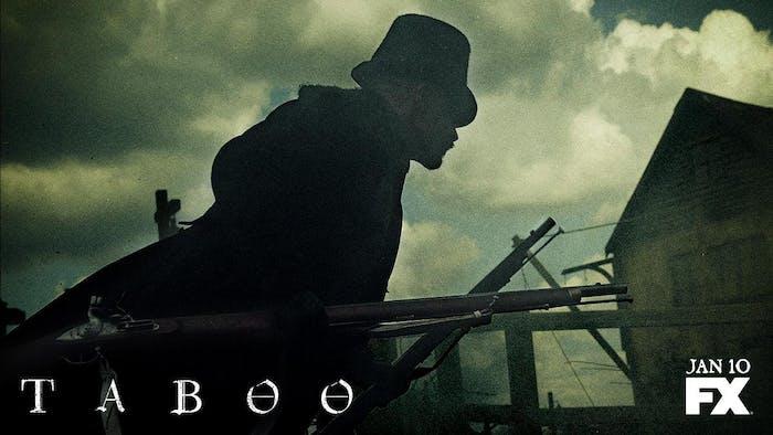 Tom Hardy in Taboo