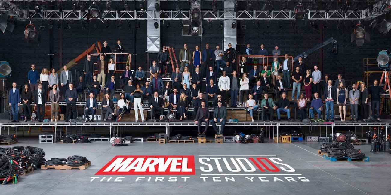 "Marvel Studios 10-year anniversary ""Class Photo"""