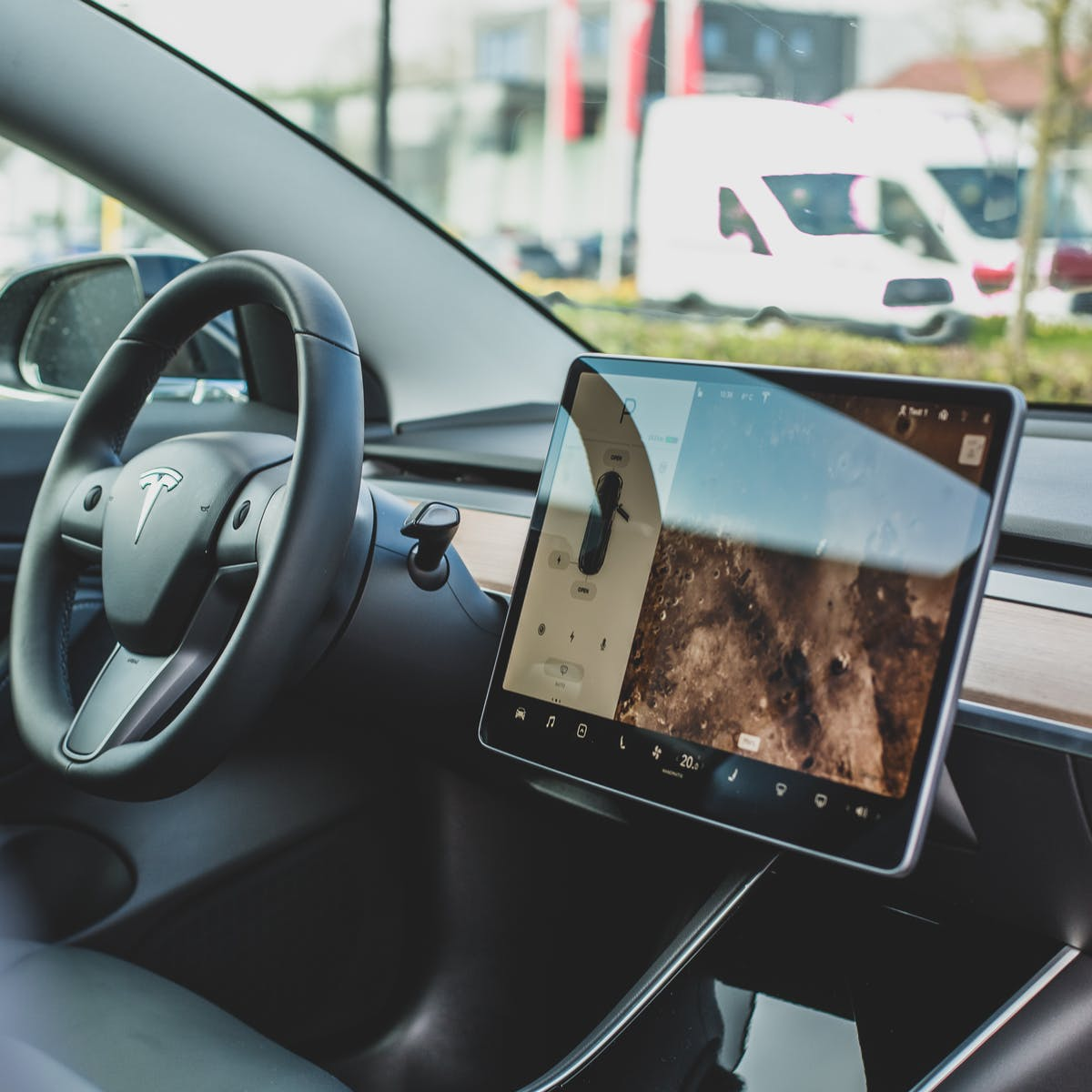 Tesla's futuristic self-driving feature has become a social media hit