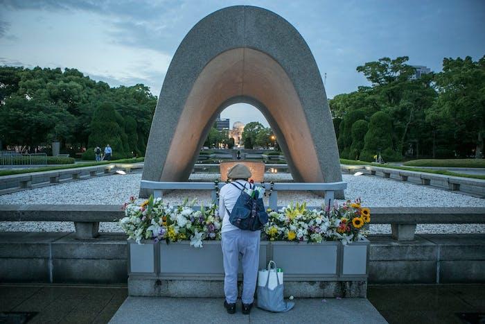 Hiroshima's Peace Memorial Park.