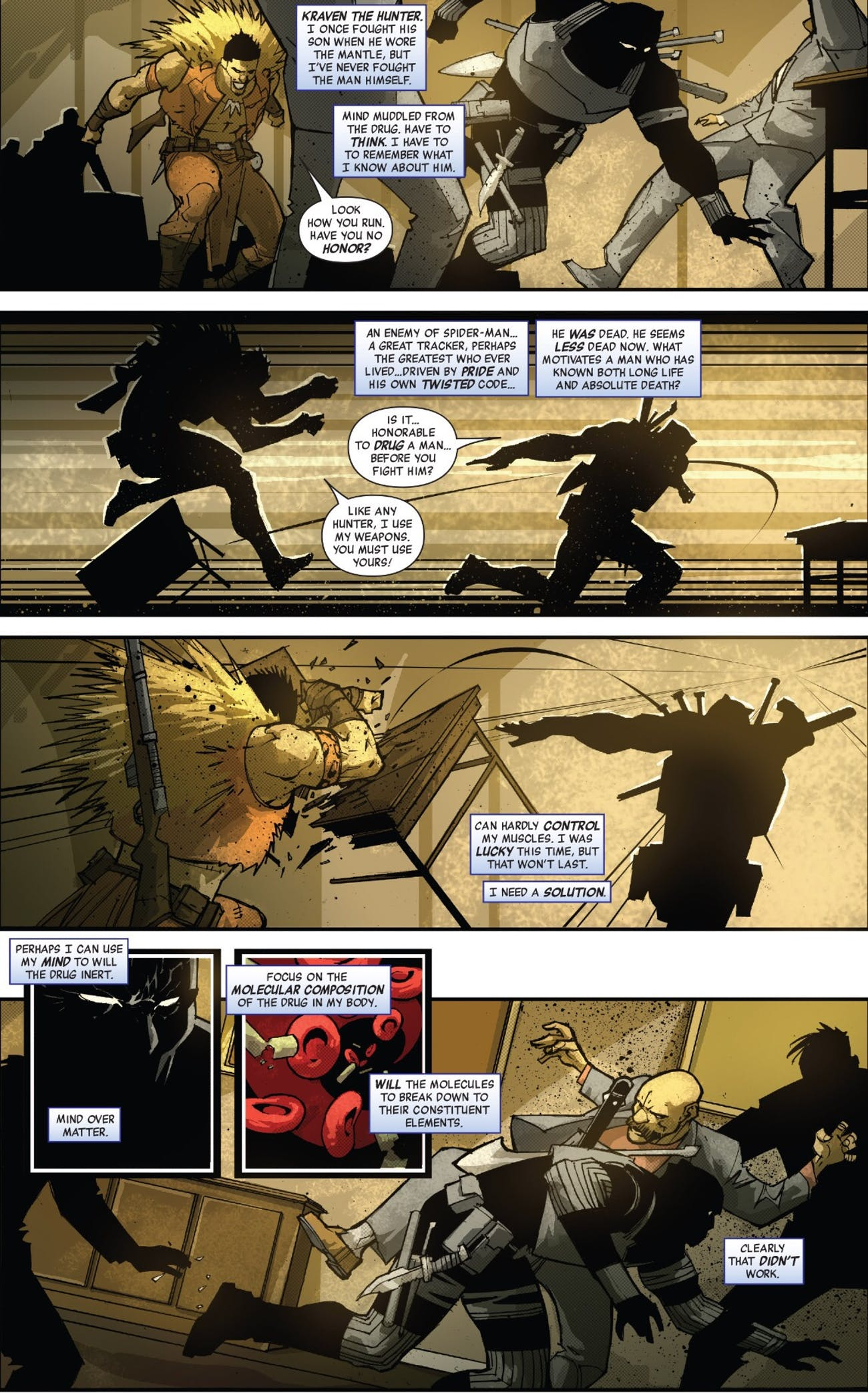 Black Panther Kraven