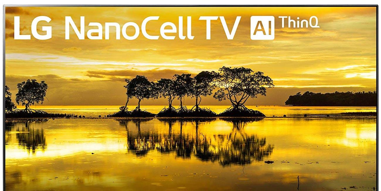 "LG 55SM9000PUA Nano 9 Series 55"" 4K Ultra HD Smart LED NanoCell TV (2019)"