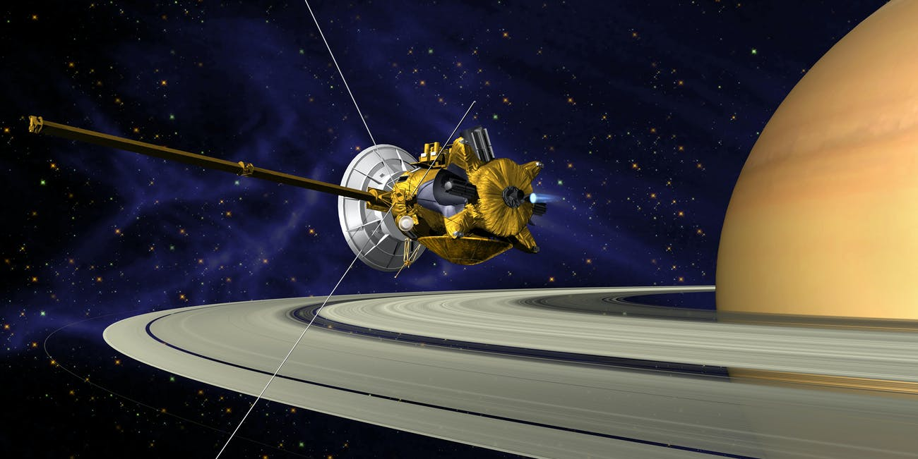 nasa cassini huygens
