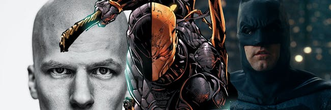 Justice League Deathstroke Lex Luthor Post Credits