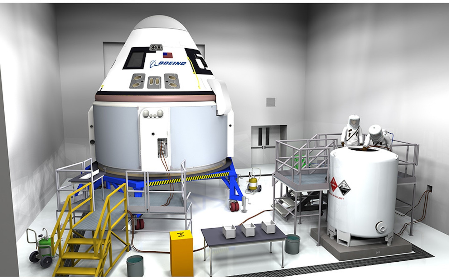 The Boeing CST-100 Starliner