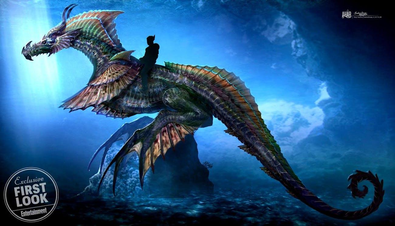 Aquaman Sea Dragons