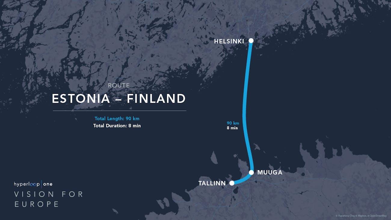 Estonia to Finland