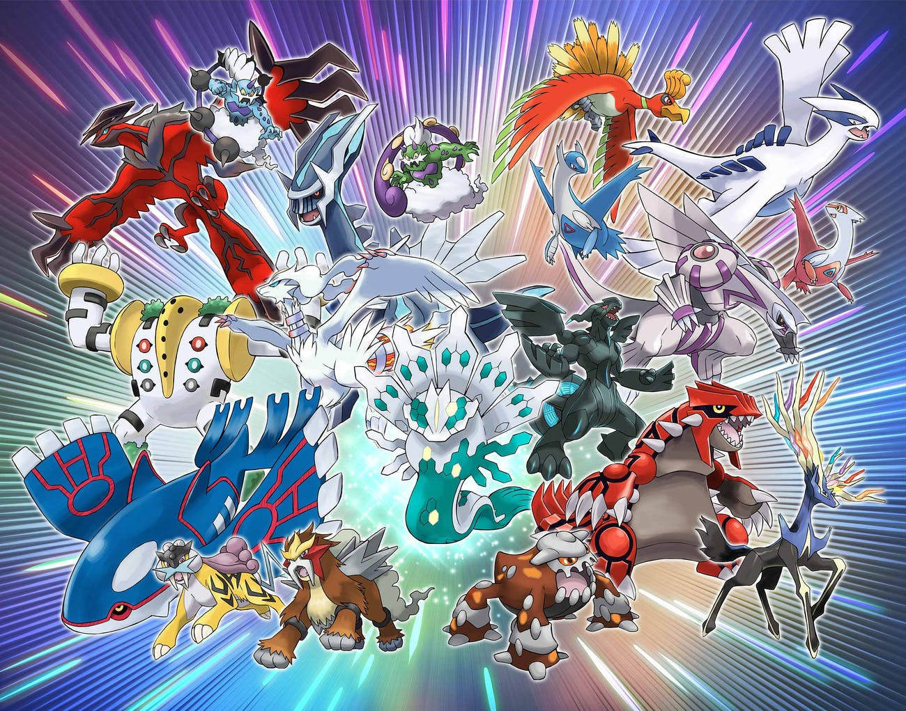 Here are the many Legendary Pokémon you'll be able to get in 2018.