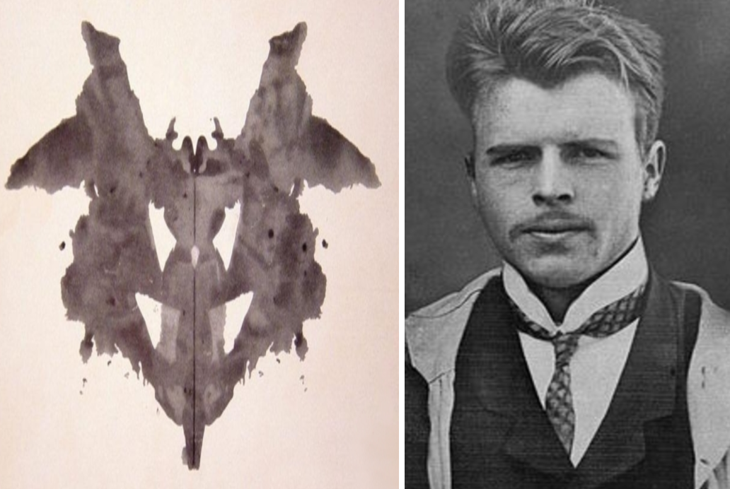 Rorschach and his test.