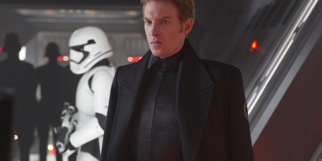 General Hux Star Wars The Rise of Skywalker