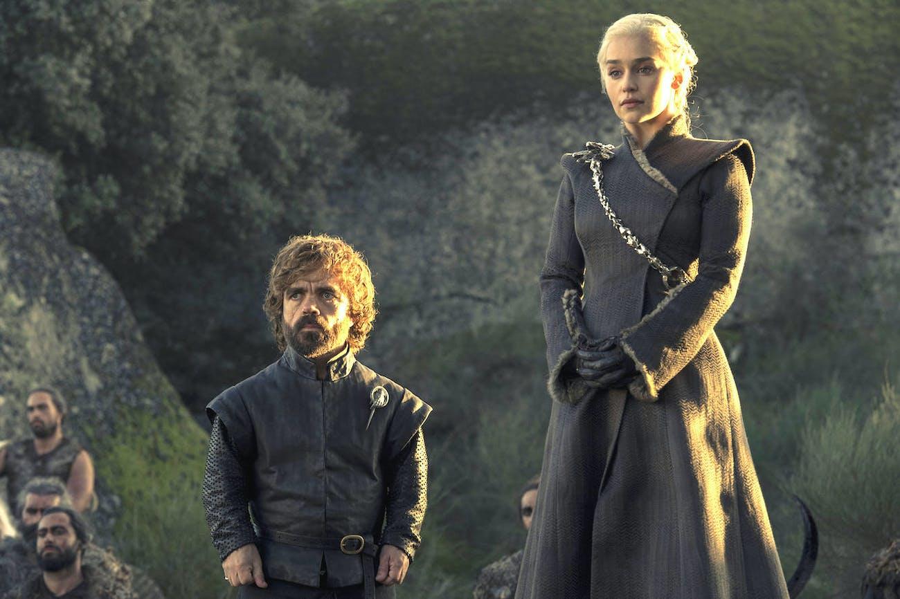 Emilia Clarke as Daenerys Targaryen in 'Eastwatch'