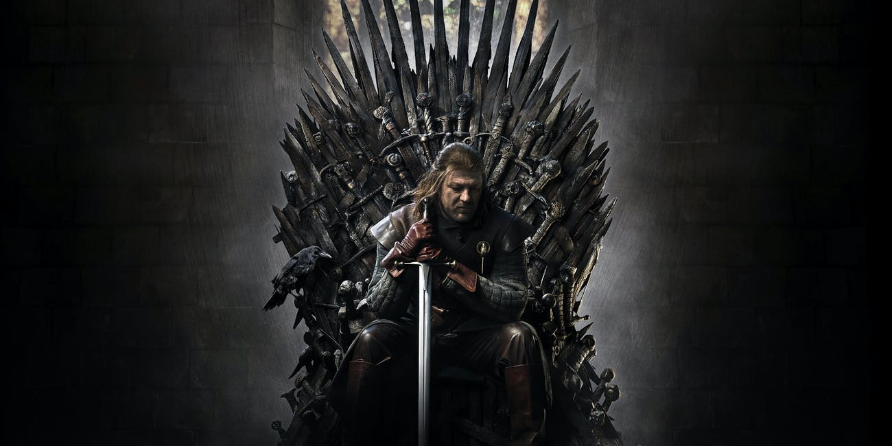 sean bean ned stark game of thrones iron throne
