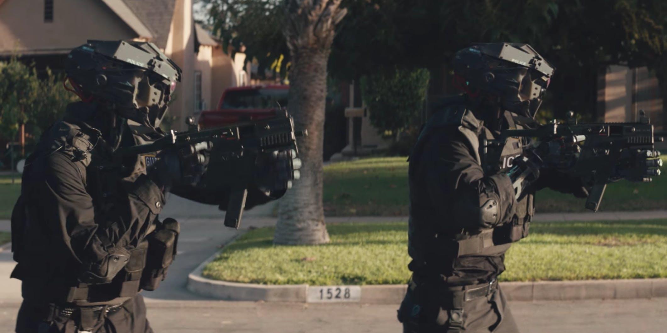 Drone cops in 'Code 8'