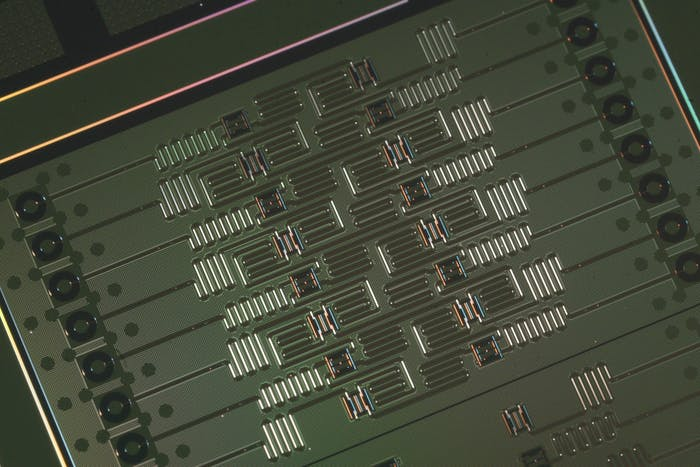 An IBM 16 qubit processor that is available for the public to use. The 17 qubit processor is only available commercially.