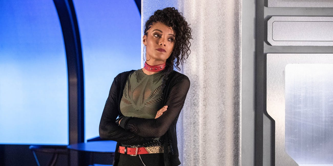 maisie richardson sellers new character charlie not amaya legends of tomorrow season 4 shapeshifter