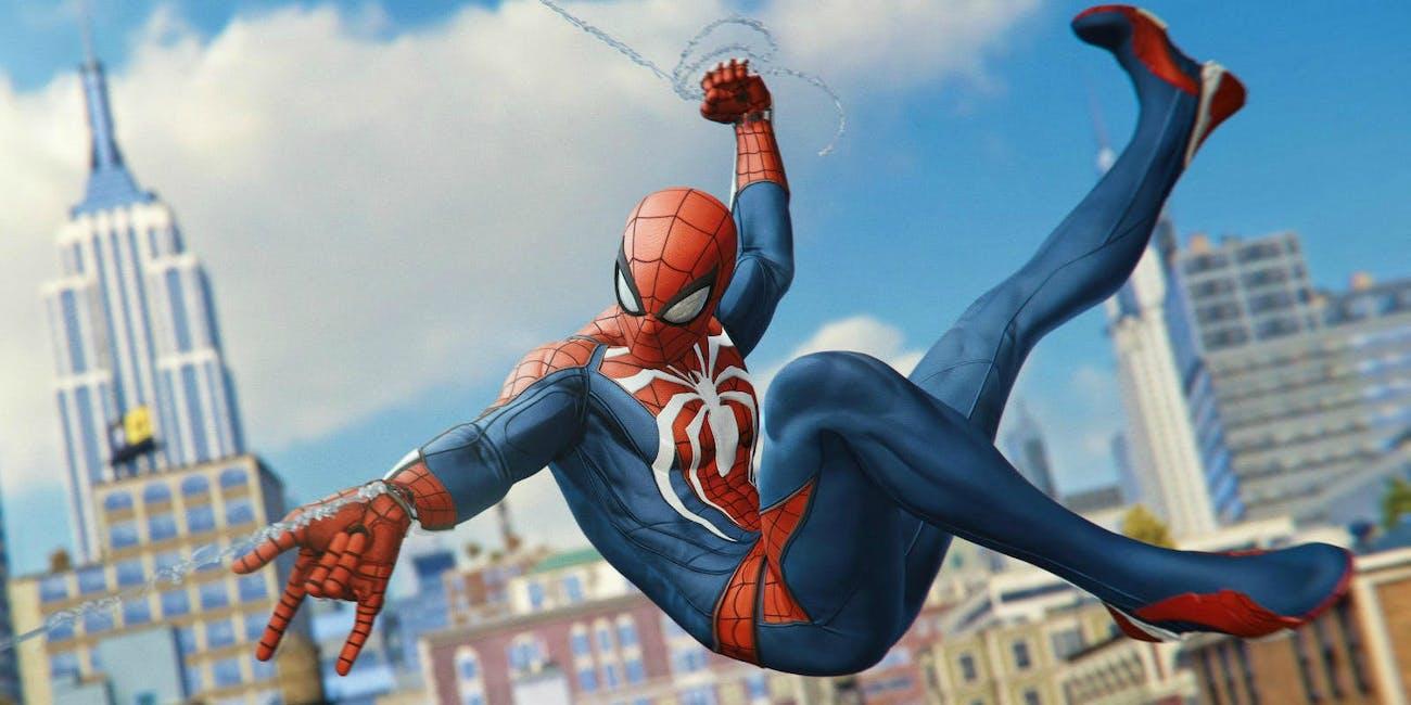 'Spider-Man' PS4 Webslinging