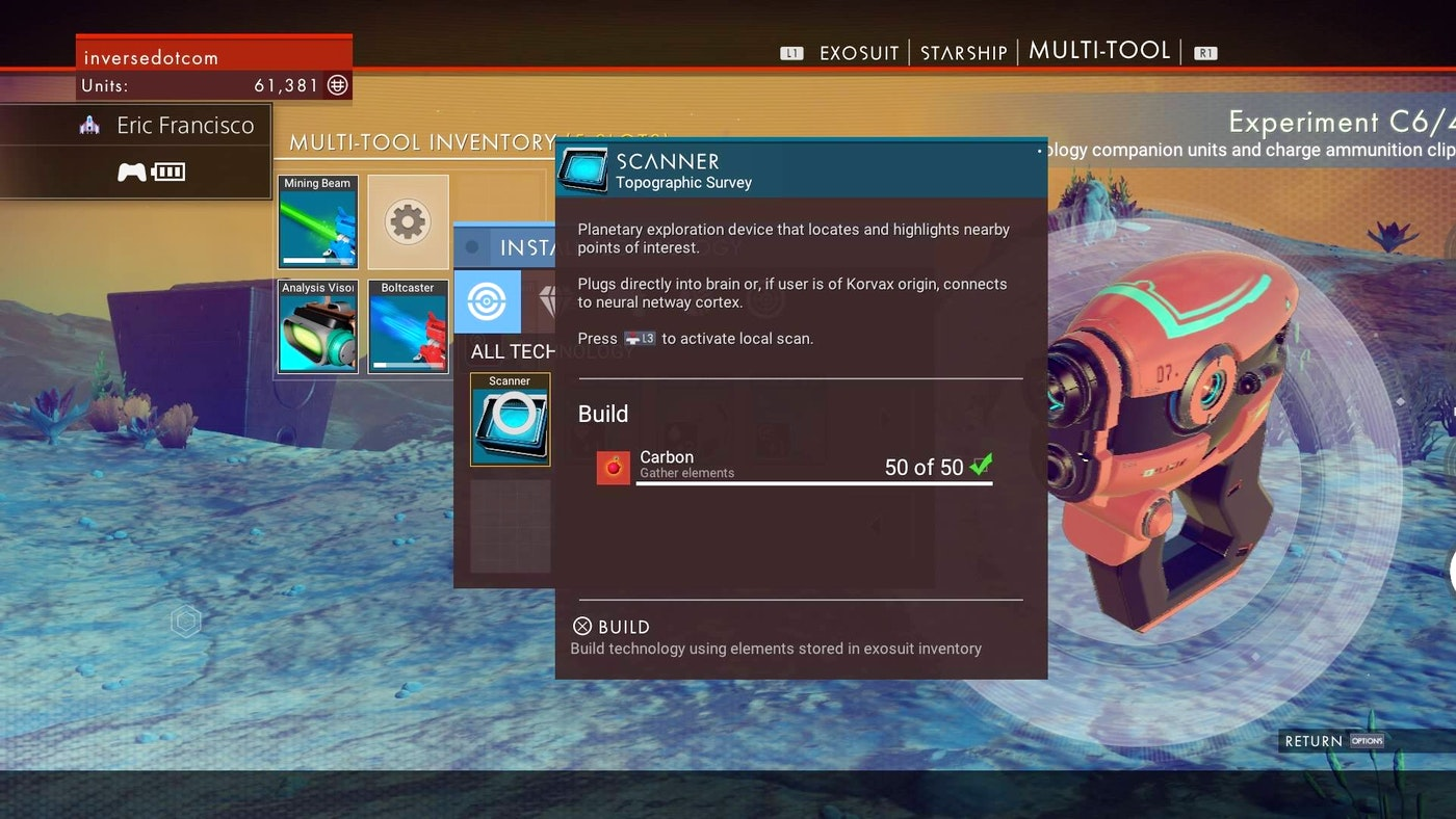 How To Repair Your Multi-Tool In No Man's Sky | Tom's