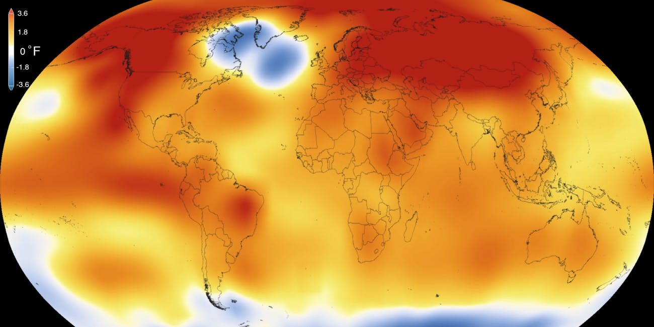 Earths 2015 surface temperatures were the warmest since modern record keeping began in 1880, according to independent analyses by NASA and the National Oceanic and Atmospheric Administration (NOAA).