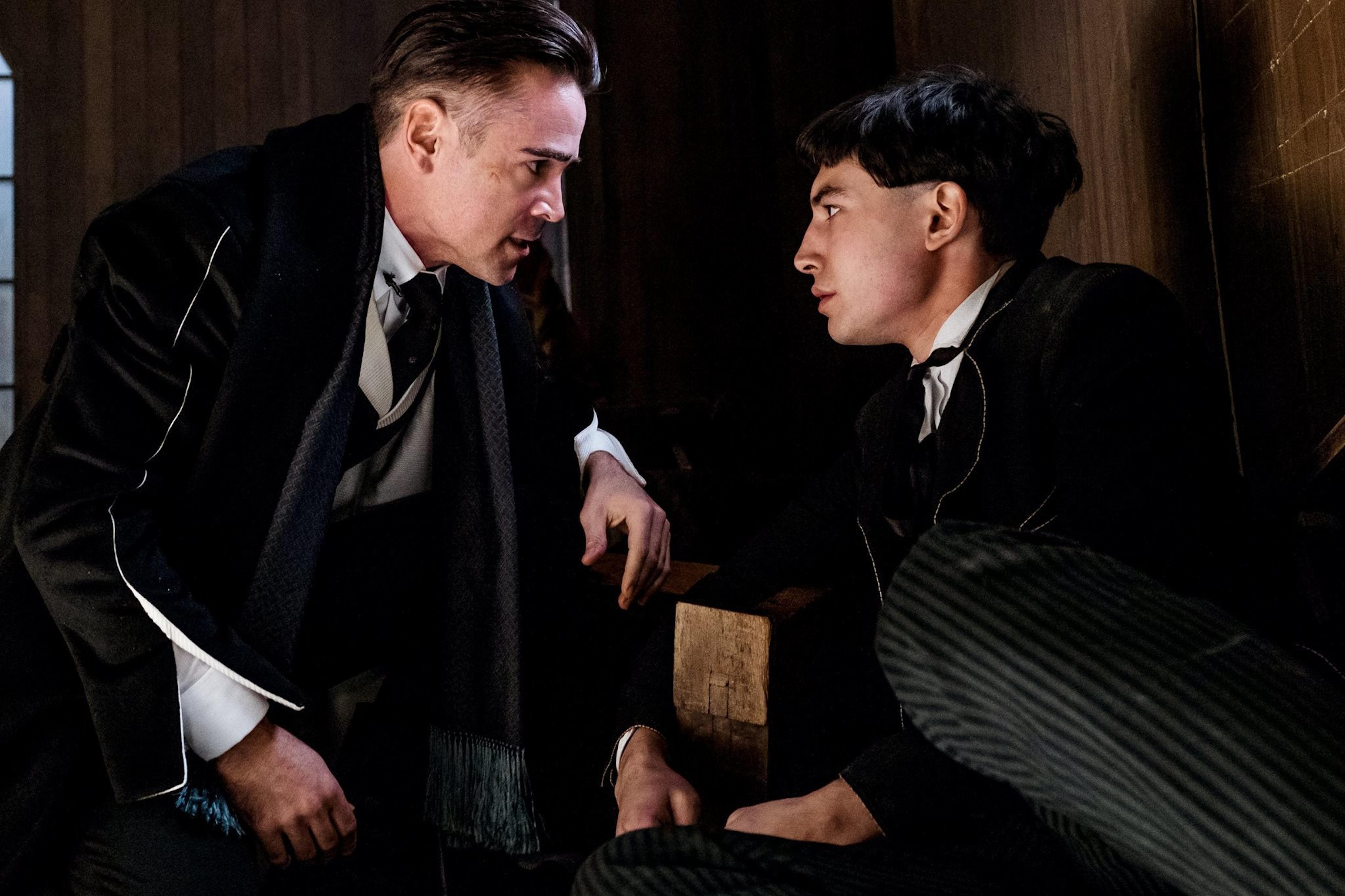 Colin Farrell and Ezra Miller
