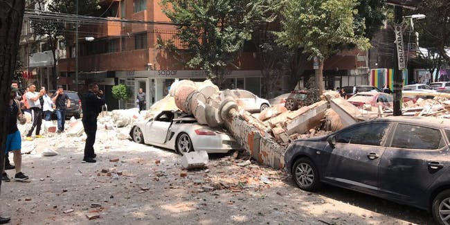 Earthquake in Mexico City second in 2 weeks