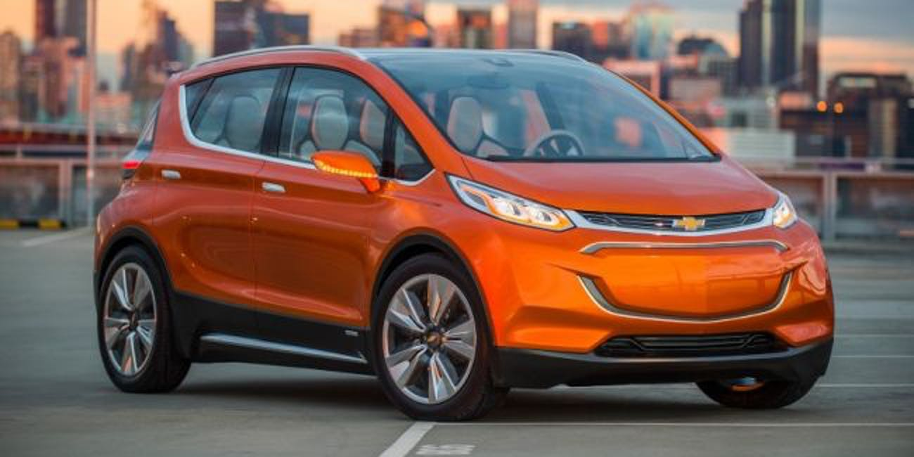 The 2018 Chevrolet Bolt