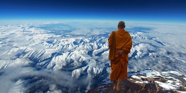 Buddhist Monk Tibet Himalayas Mountain High Altitude Genetics DNA