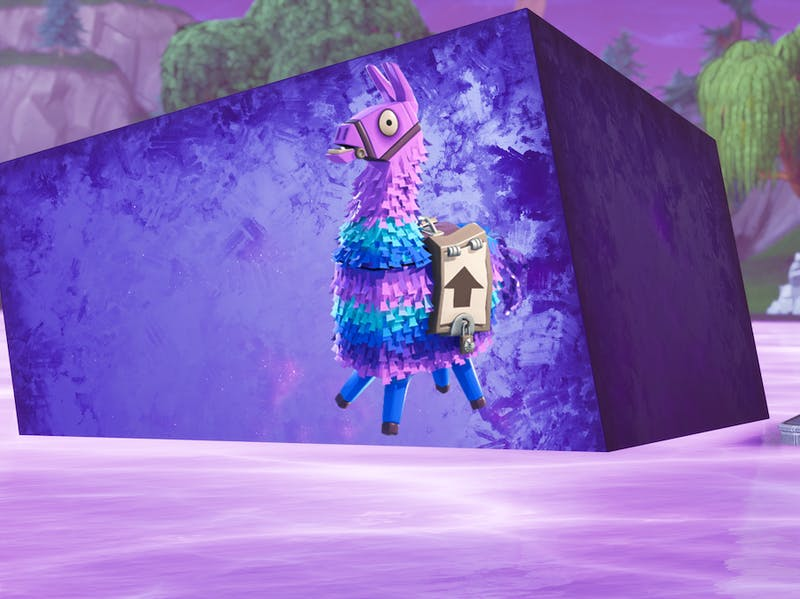 'Fortnite' Season 6 Purple Cube