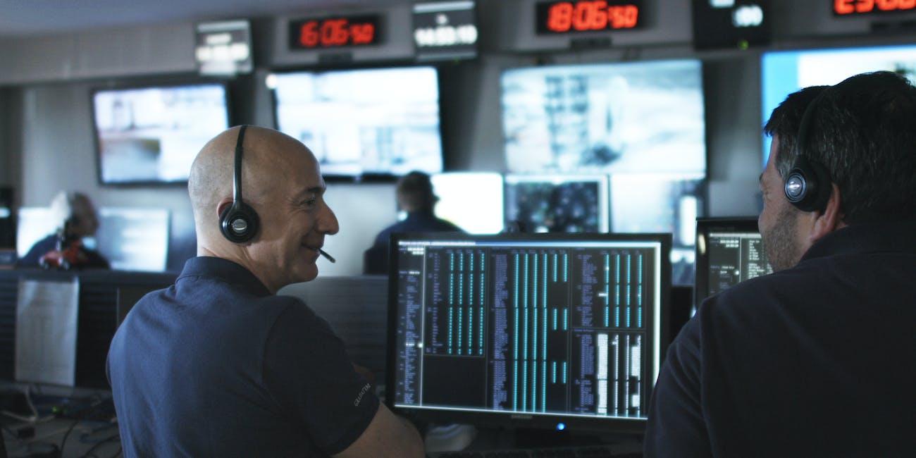 Jeff Bezos, Blue Origin Photo