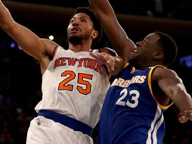 Madison Square Garden opted out of playing music during the first half of the Knicks versus Warriors game.