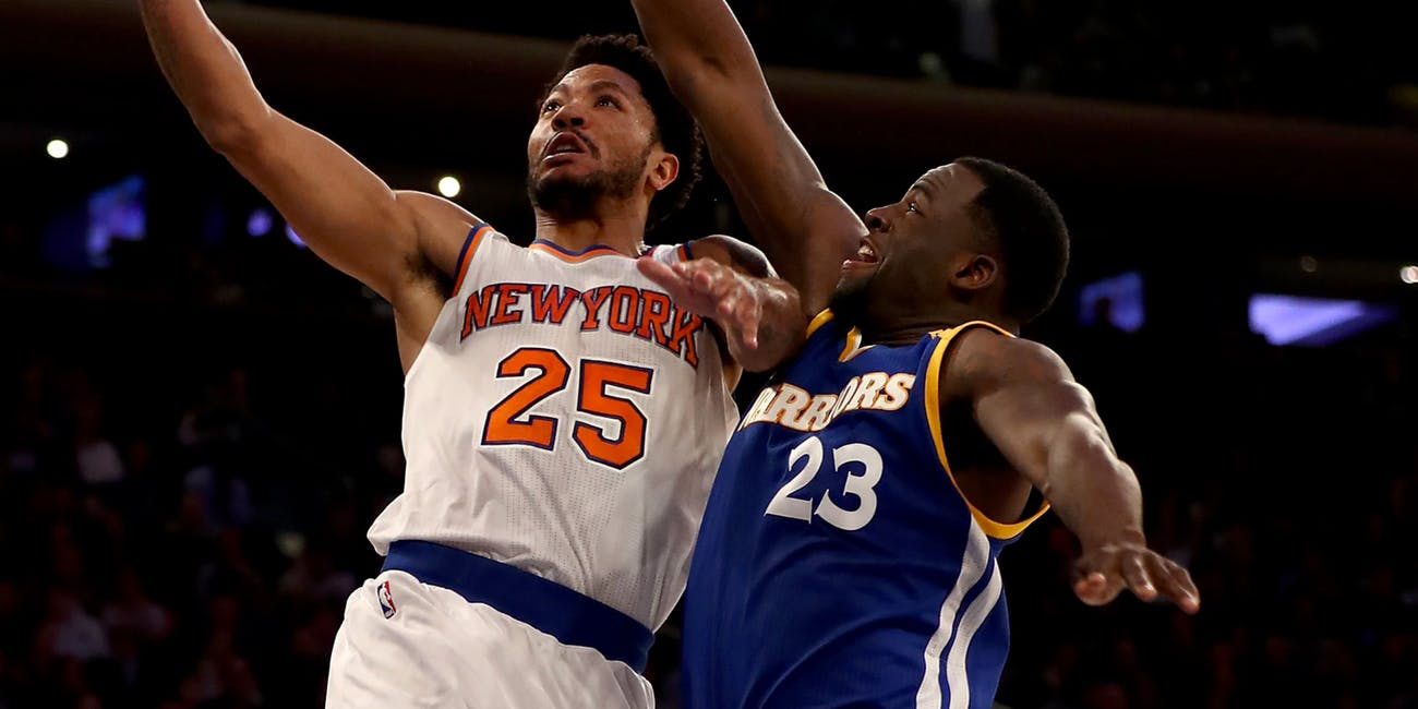 Madison Square Garden opted out of playing music during the first half of the Knicks versus