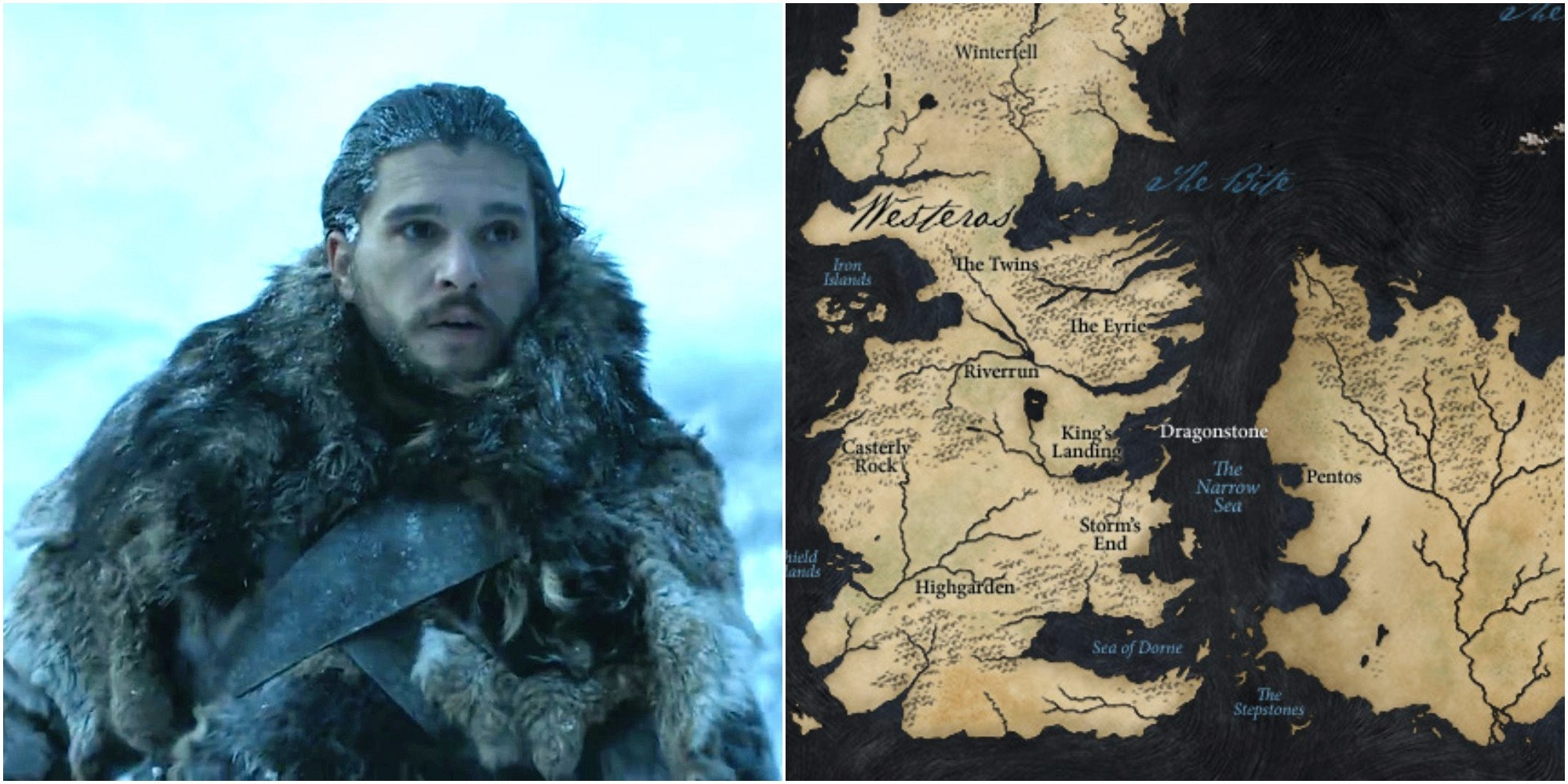 Wild Game Of Thrones Theory Connects Westeros And Essos On A Map