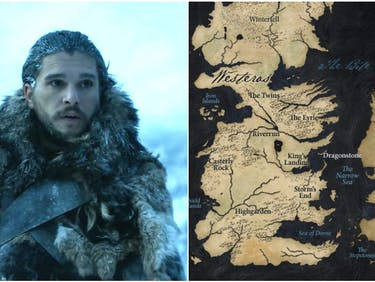 Kit Harington as Jon Snow, King in the North in 'Game of Thrones' Season 7