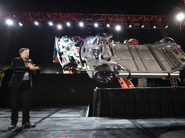 Elon Musk is Pretty Pleased Tesla is Now Worth More Than Ford