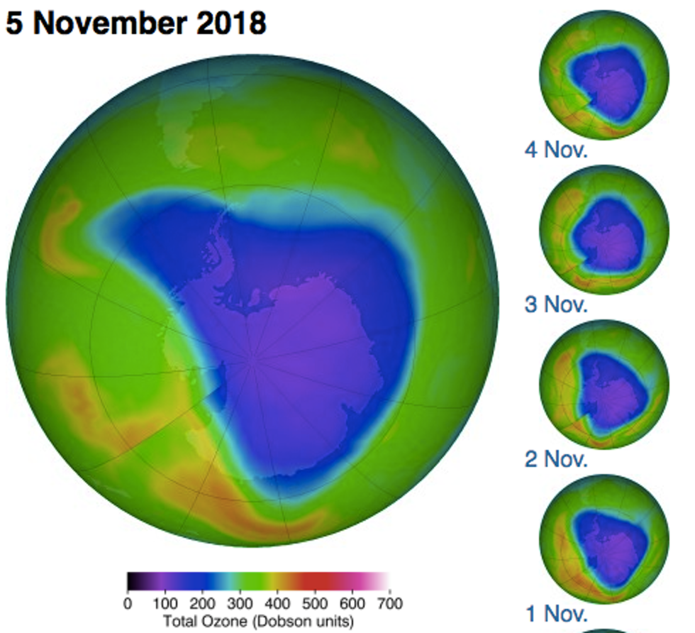 Ozone Hole Nasa Video Explains Why Theres Hope It Will Close Up