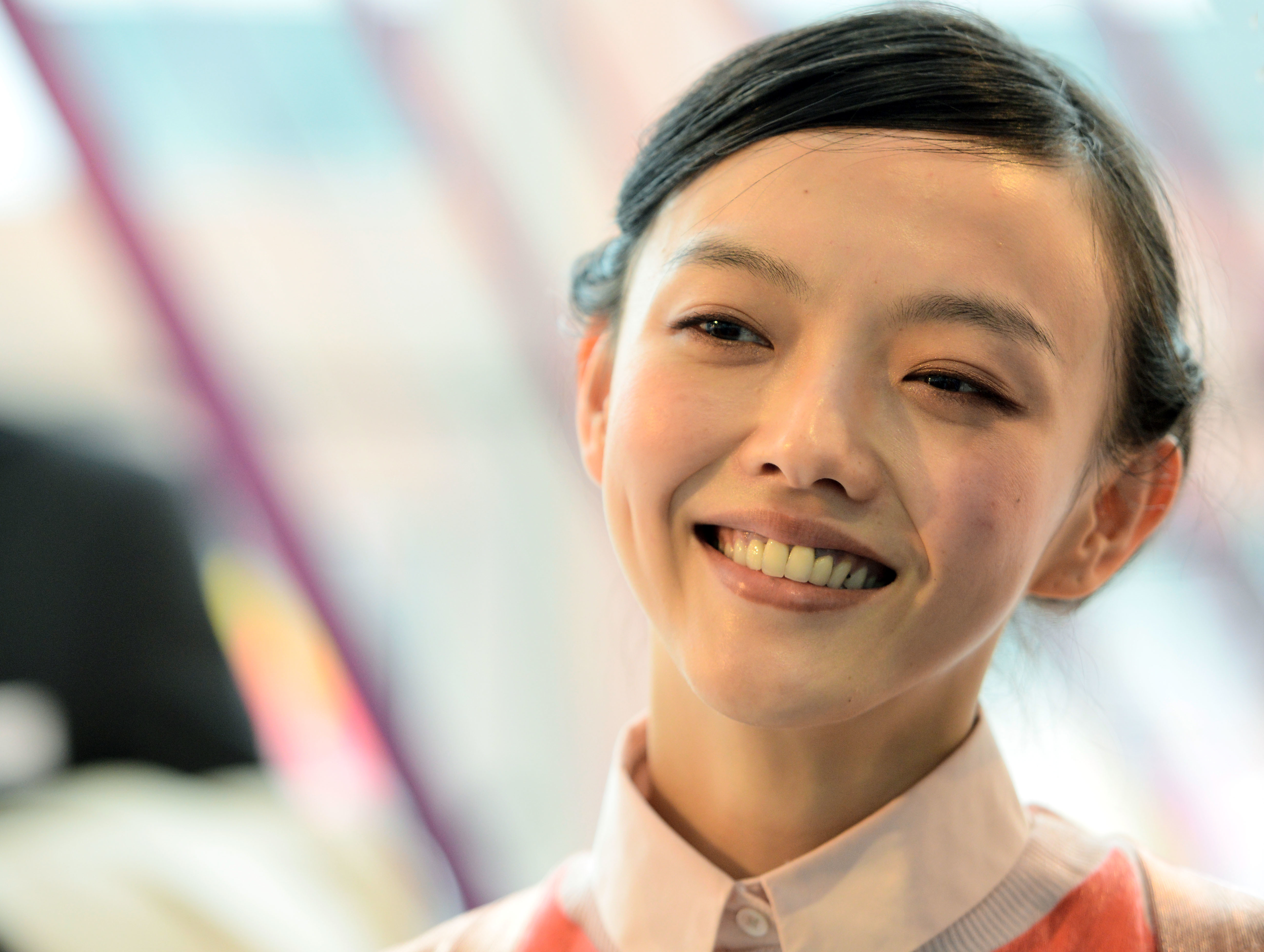 Rila Fukushima, the actress that all the Geishas are based on.
