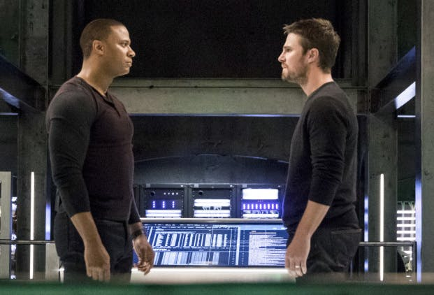 The founding members of Team Arrow split up.