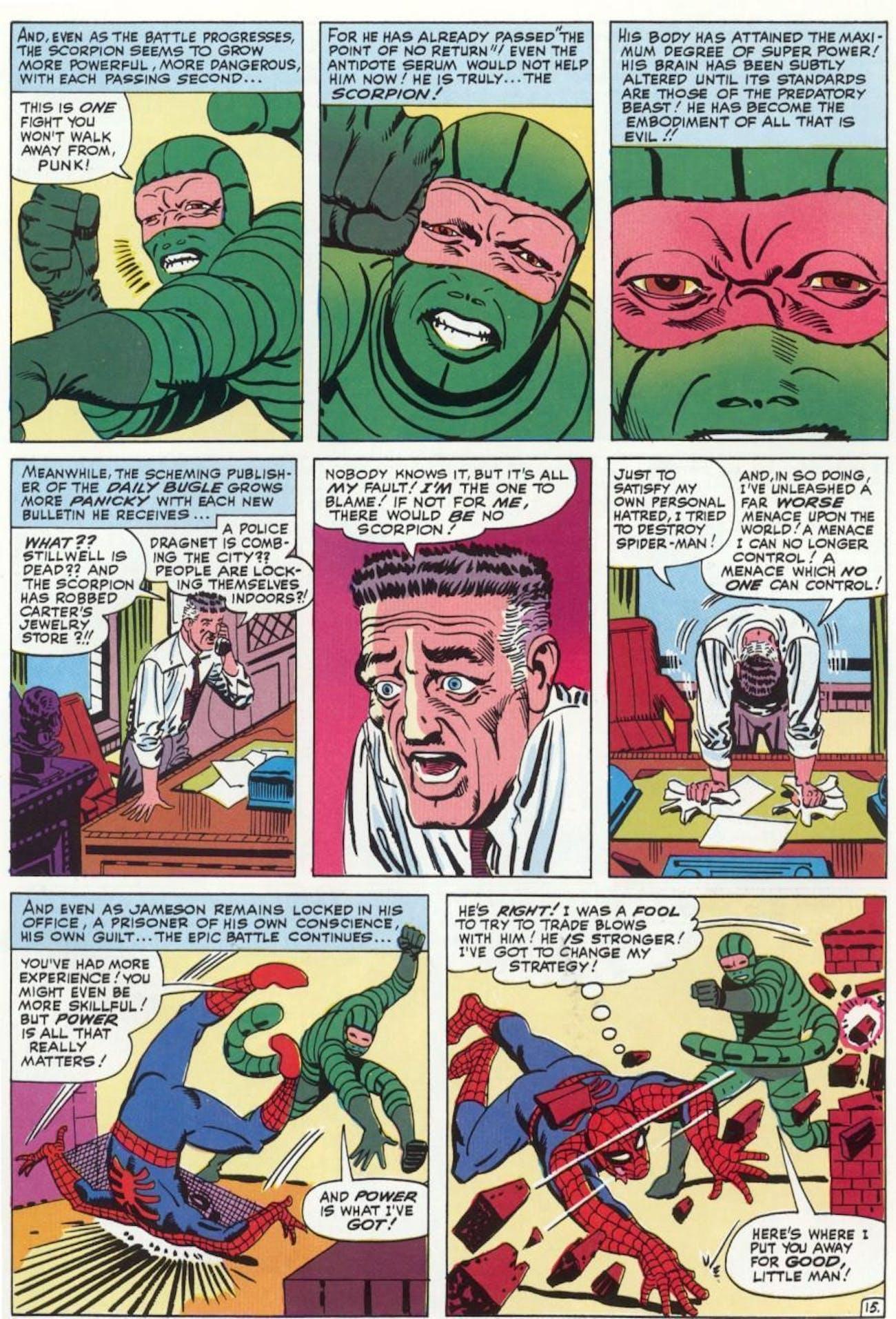 Scorpion Marvel Homecoming Spider-Man