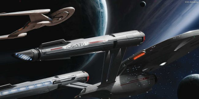 Concept Art For The USS Enterprise On Star Trek Discovery In