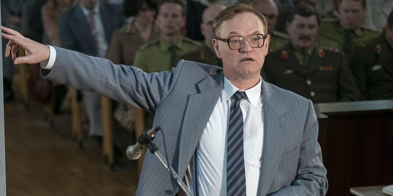 Jared Harris in 'Chernobyl'.