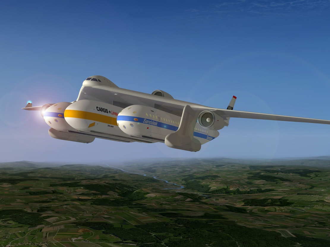 When Pod Transport Proliferates, Planes Will Look Like Bombers